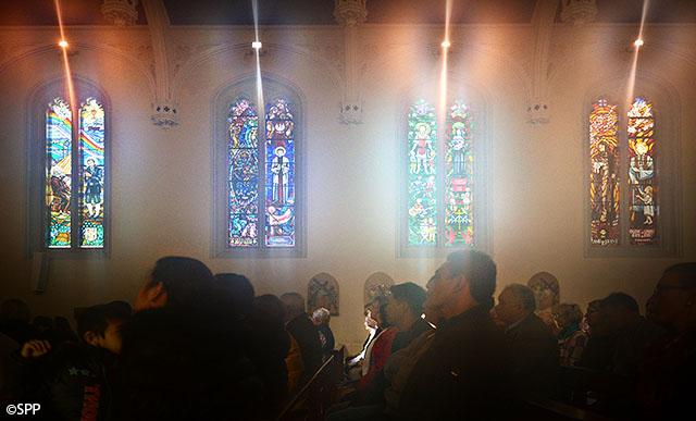 Saint Mary MacKillop window